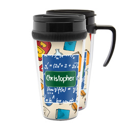 Math Lesson Acrylic Travel Mugs (Personalized)