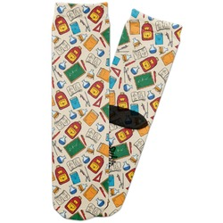 Math Lesson Adult Crew Socks (Personalized)