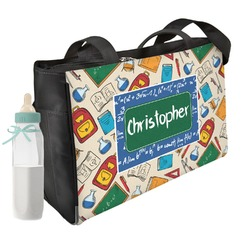 Math Lesson Diaper Bag (Personalized)