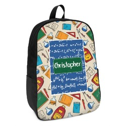 Math Lesson Kids Backpack (Personalized)
