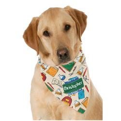 Math Lesson Dog Bandana Scarf w/ Name or Text