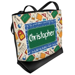 Math Lesson Beach Tote Bag (Personalized)