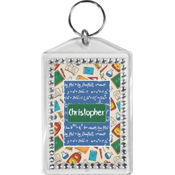 Math Lesson Bling Keychain (Personalized)