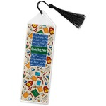 Math Lesson Book Mark w/Tassel (Personalized)
