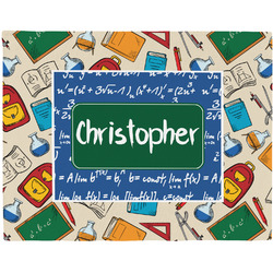 Math Lesson Placemat (Fabric) (Personalized)
