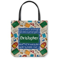 Math Lesson Canvas Tote Bag (Personalized)
