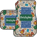 Math Lesson Car Floor Mats (Personalized)