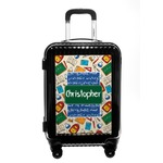 Math Lesson Carry On Hard Shell Suitcase (Personalized)