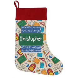 Math Lesson Holiday / Christmas Stocking (Personalized)