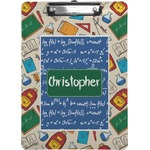 Math Lesson Clipboard (Personalized)