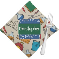 Math Lesson Napkins (Set of 4) (Personalized)