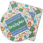 Math Lesson Rubber Backed Coaster (Personalized)
