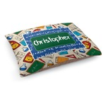 Math Lesson Dog Bed (Personalized)