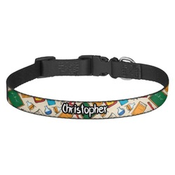 Math Lesson Dog Collar (Personalized)