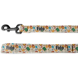 Math Lesson Deluxe Dog Leash (Personalized)