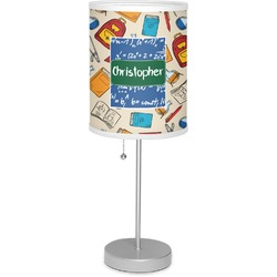 "Math Lesson 7"" Drum Lamp with Shade (Personalized)"
