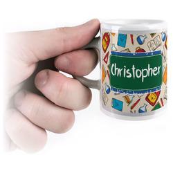 Math Lesson Espresso Cups (Personalized)