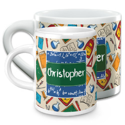 Math Lesson Espresso Cups (Personalized)