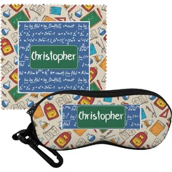 Math Lesson Eyeglass Case & Cloth (Personalized)