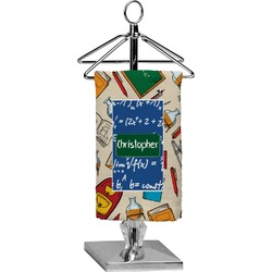 Math Lesson Finger Tip Towel - Full Print (Personalized)