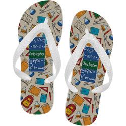 Math Lesson Flip Flops (Personalized)