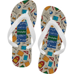 Math Lesson Flip Flops (Personalized)