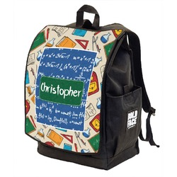 Math Lesson Backpack w/ Front Flap  (Personalized)