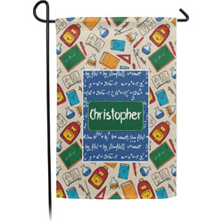 Math Lesson Single Sided Garden Flag With Pole (Personalized)