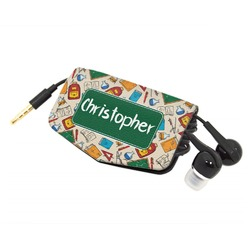 Math Lesson Genuine Leather Cord Wrap (Personalized)