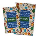 Math Lesson Golf Towel - Full Print w/ Name or Text