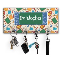 Math Lesson Key Hanger w/ 4 Hooks (Personalized)