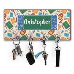 Math Lesson Key Hanger w/ 4 Hooks (Personalized)