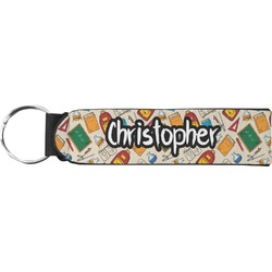 Math Lesson Neoprene Keychain Fob (Personalized)