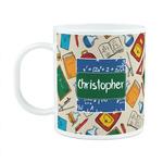 Math Lesson Plastic Kids Mug (Personalized)