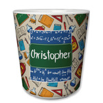 Math Lesson Plastic Tumbler 6oz (Personalized)