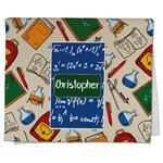 Math Lesson Kitchen Towel - Full Print (Personalized)