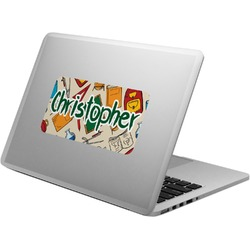 Math Lesson Laptop Decal (Personalized)