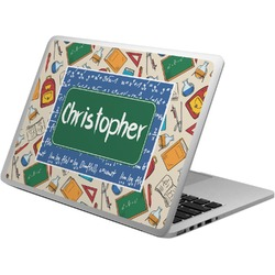 Math Lesson Laptop Skin - Custom Sized (Personalized)