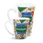 Math Lesson Latte Mug (Personalized)