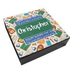 Math Lesson Leatherette Keepsake Box - 3 Sizes (Personalized)