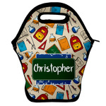 Math Lesson Lunch Bag w/ Name or Text