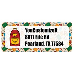 Math Lesson Return Address Labels (Personalized)