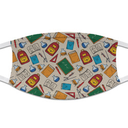 Math Lesson Cloth Face Mask (T-Shirt Fabric) (Personalized)