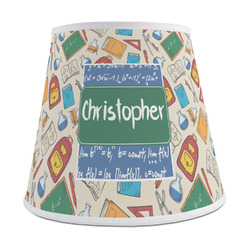 Math Lesson Empire Lamp Shade (Personalized)