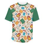 Math Lesson Men's Crew T-Shirt (Personalized)