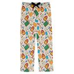 Math Lesson Mens Pajama Pants (Personalized)