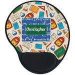 Math Lesson Mouse Pad with Wrist Support