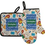 Math Lesson Oven Mitt & Pot Holder (Personalized)