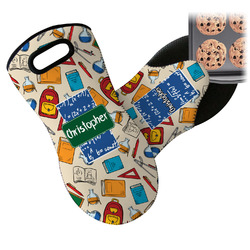 Math Lesson Neoprene Oven Mitt (Personalized)