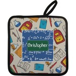 Math Lesson Pot Holder w/ Name or Text